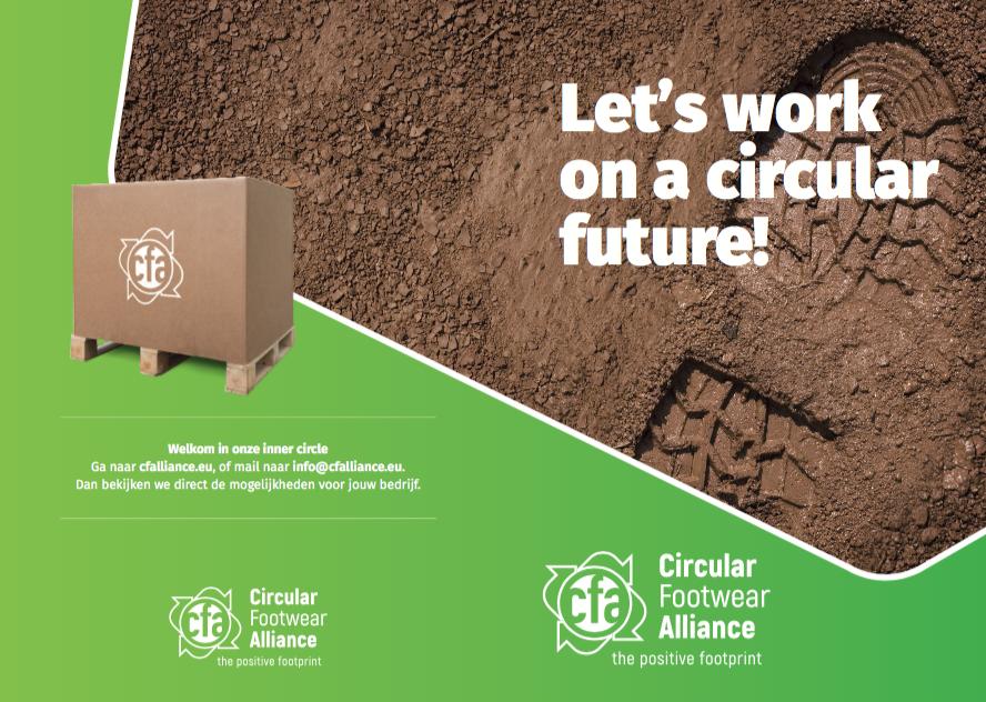 Circular Footwear Alliance geeft praktische invulling aan European Green Deal